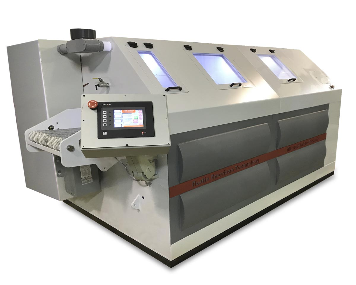 AAT MicroJet EC In-Line Cleaning system